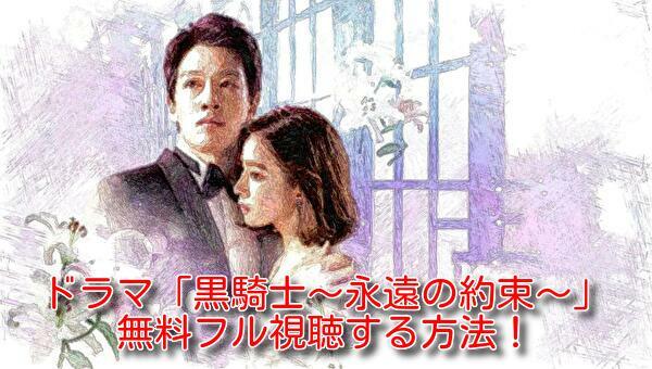 黒騎士~永遠の約束~(韓国ドラマ)日本語字幕のフル動画!無料視聴する方法